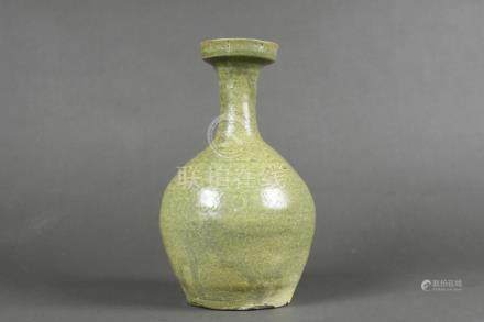 A celadon wide mouth bottle