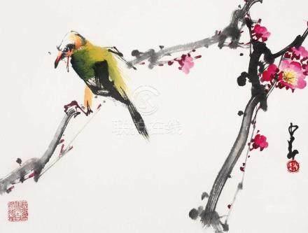 趙少昂 - 花鳥