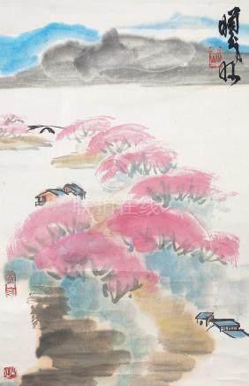 林㬢明 - 山居圖