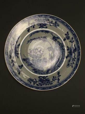 Kangxi: Blue and White Pond Dish