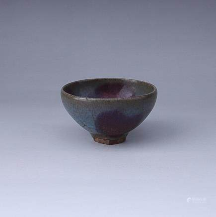 10-12TH CENTURY, A JUN KILN TEACUP, SONG DYNASTY
