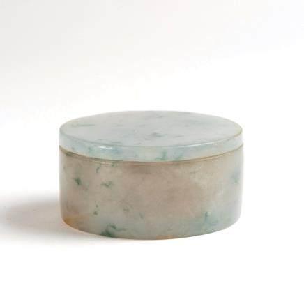 玉雕小圆盒