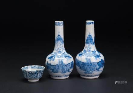 青花瓶·杯一组