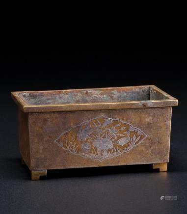 铜雕马槽炉