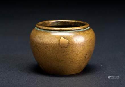 铜雕点金小香炉