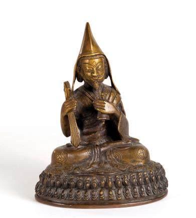 铜雕宗喀巴尊者像