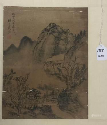 Dai Xi(1801-1860), Landcape