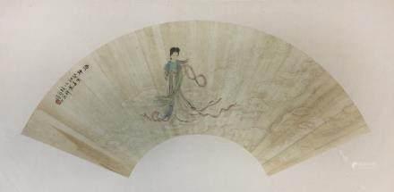 Xu Xiang(1332-1404), Goddess of Luo River