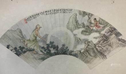 Wang Hui, Figure