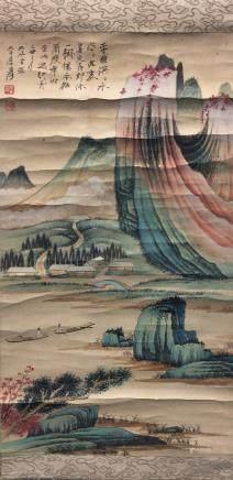 Zhang Daqian(1899-1983), Landscape