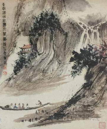 Fu Baoshi(1904-1965), Flowers