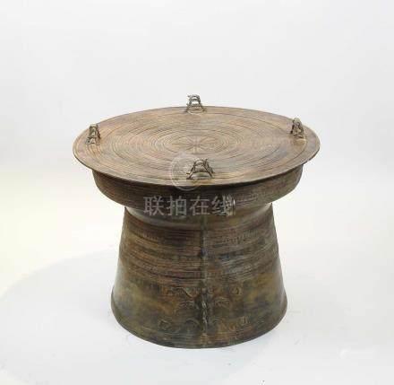 Tambour de PluieAlliage de cinq métaux: le cuivre, puis en quantités plus faibles, l'étain,
