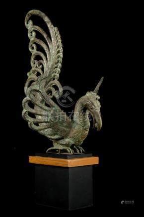 18th Century Majapahit Style Bird