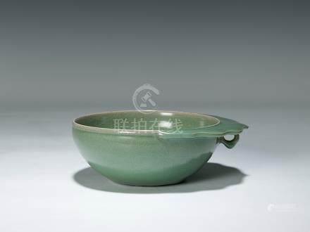 清 青釉水洗