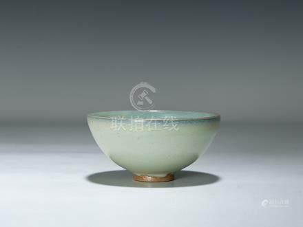 清 均釉碗