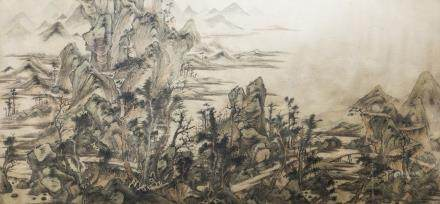 ANONYMOUS (QING DNASTY), LANDSCAPE