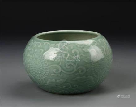 Chinese Celadon Brush Washer