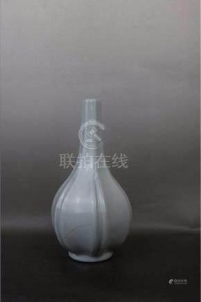 China, Qing GuanYao Long Necked Bottles