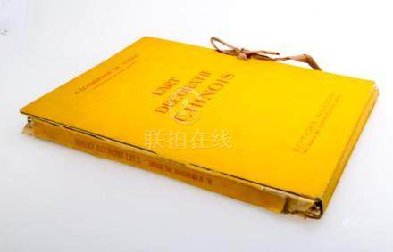 A CHINESE ART REFERENCE BOOK IN 1930, PARIS.B021.