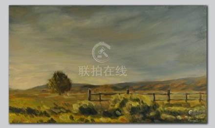 Spring Landscape, Original Oil Painting, Fine Art,