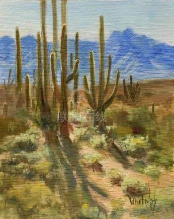 Desert Landscape, Original Painting, Oil Painting, Oil
