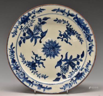 A Derby circular plate,