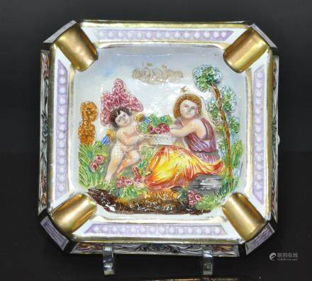 A Vintage ITALY porcelain Ashtray