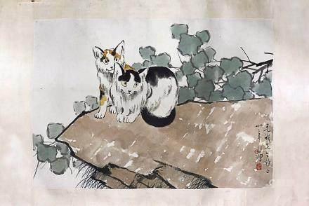 XUBEIHONG <TWO CATS>