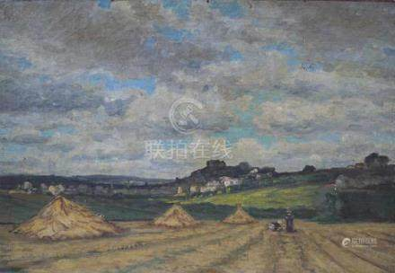 SCHOOL OF BARBIZON:RURAL VIEW, FROM VILLE D'ORSAY