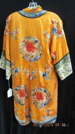 A QING DYNASTY STYLE WOMENS SILK COAT SET.Z040.
