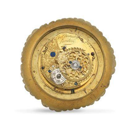 A watch movement signed George Graham, London Circa 1720