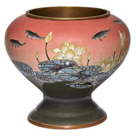 Japanese Cloisonné Vase