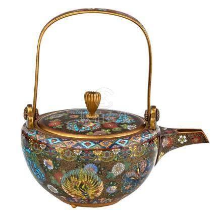 Japanese Cloisonné Teapot