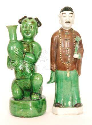Two Chinese figures,