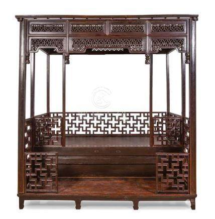 * A Chinese Hardwood Canopy, Babuchuang Height 101 1/2