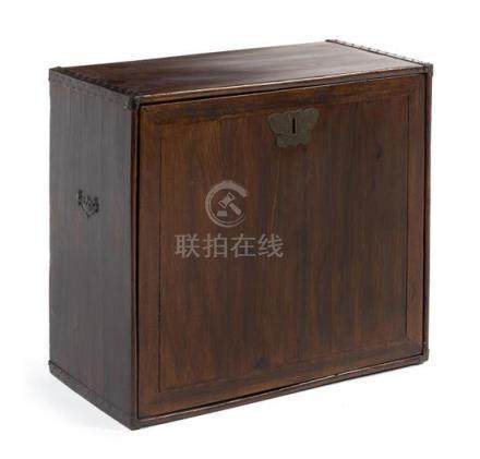 * A Chinese Hardwood Scholar's Cabinet, Gui Height 22