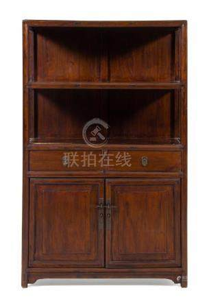 * A Chinese Hongmu Display Cabinet Lianggegui Height 64