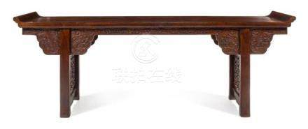 * A Large Chinese Hardwood Altar Table, Qiaotou'an