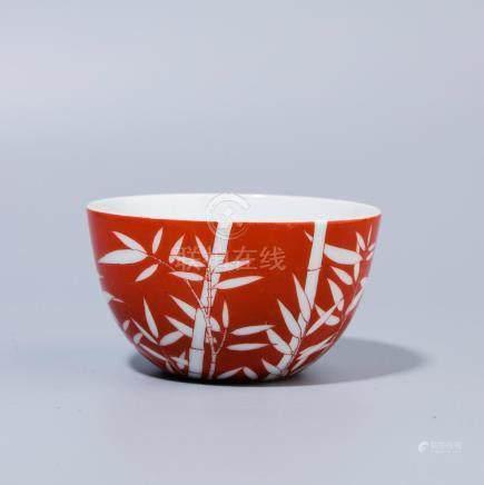 Qianlong Iridescent Bamboo Cup