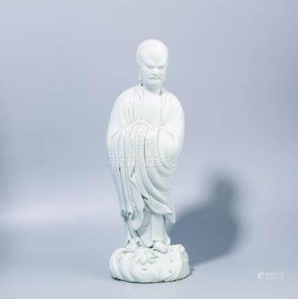 A Chinese Dehua Porcelain Damo