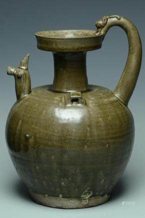A SOUTHERN DYNASTIES YUE CHICKEN HEAD EWER
