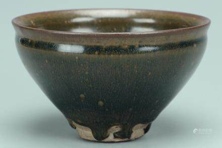 A SONG DYNASTY JIANYAO HARE'S FUR TEA BOWL