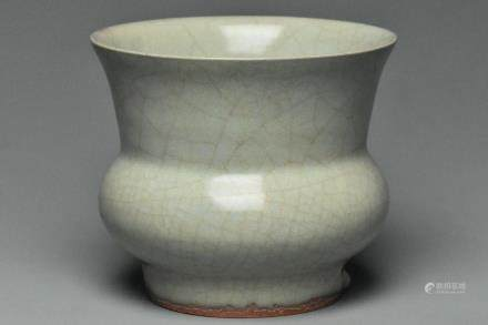 A SONG DYNASTY LONGQUAN GUAN TYPE ZHADOU