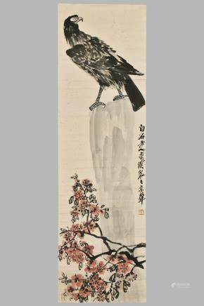 QI BAI SHI (1864-1957), INK AND COLOR ON PAPER