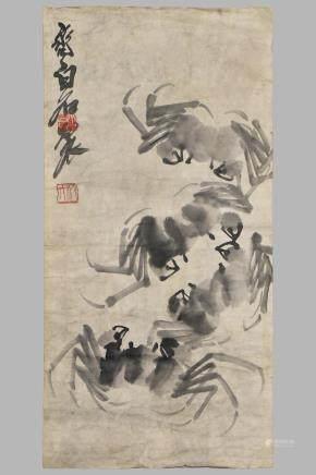 QI BAI SHI (1864-1957), INK ON PAPER