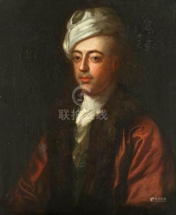 Circle of Nathaniel Hone, RA (Dublin 1718-1784 London) Portrait of a gentleman, bust-length