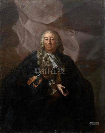 North Italian School, 18th Century Portrait of a gentleman, half-length unframed