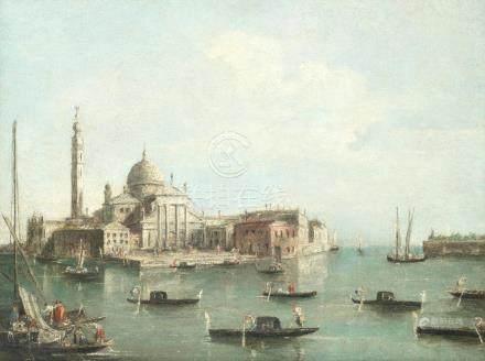 Manner of Francesco Guardi, 20th Century The church of San Giorgrio Maggiore, Venice