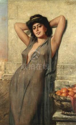 Nathaniel Sichel (German, 1843-1907) Eastern beauty