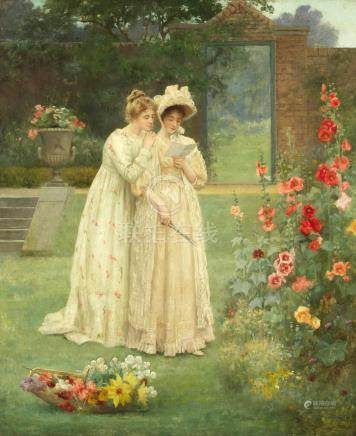 John Shirley Fox (British, born circa 1860-1939) The letter